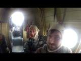 Подъем на высоту 950 метров, самолет АН-2 (кукурузник)