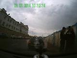 ППС г. Уфы ударили уроженца Узбекистана за отказ дачи денег (1500р)