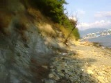 Ушёл от цивилизации на дикий пляж